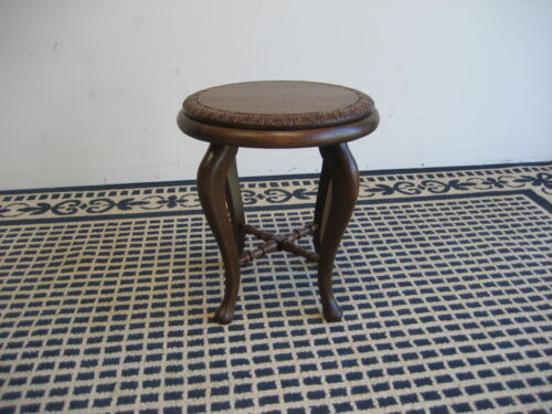 Antique American oak plant or fern stand or tabaret circa1910