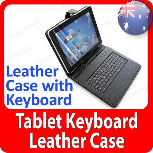 """7"""" Universal Keyboard PU Leather Case Cover Stand for Android Tablets ON SALE!"""