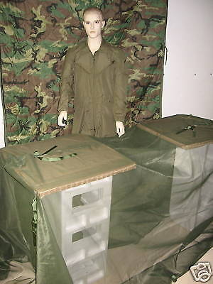 NEW US ARMY USMC MOSQUITO NET FLY BLIND TENT SHELTEROther Surplus Military Gear - 36077