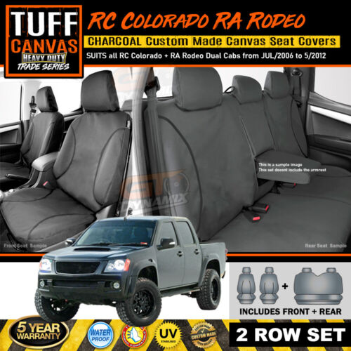 Tailored Black Driver Front Row Rear Bench Seat Covers For Isuzu Rodeo 03 12 Archives Midweek Com