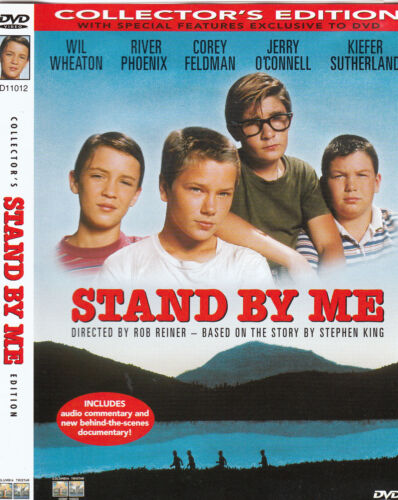 Stand By Me-1986-Wil Wheaton-Collectors Edition-Movie-DVD