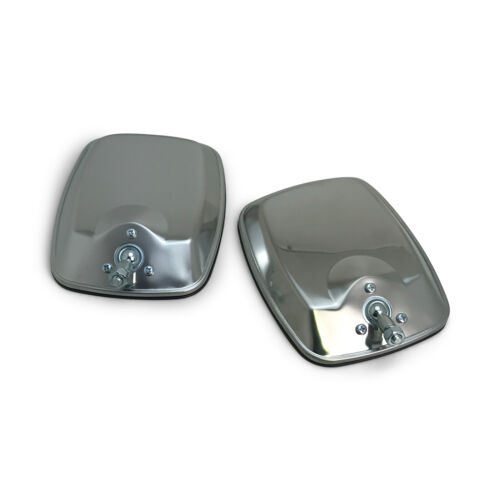 Mirror Heads PAIR Chrome Replacement fits Holden HQ HJ HX HZ Kingswood Monaro GT