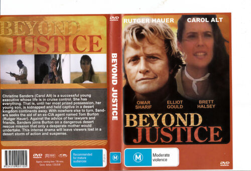 Beyond Justice-1992-Rutger Hauer- Movie-DVD