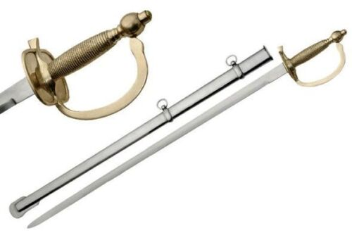 1840 United States Army NCO Sword with Steel scabbardReproductions - 156470