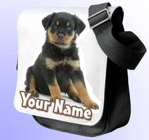 ROTTWEILER PERSONALISED SHOULDER / HAND BAG *Choice of 2 colours* NAMED GIFT !!