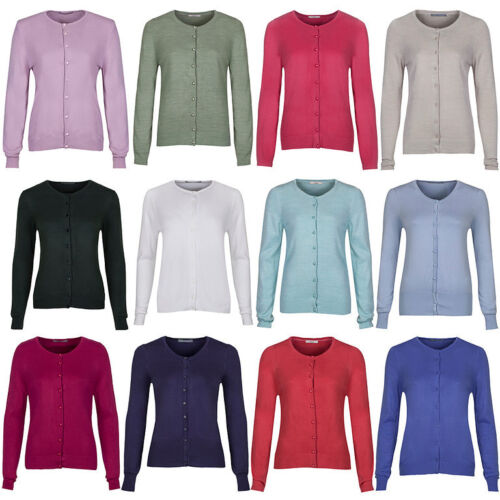 Marks & Spencer Womens Cashmilon™ Fine Knit Cardigan New Soft M&S Cardie Top <br/> ONLY £9.99 !!! - GREAT VALUE - 22 COLOURS - SIZES 8-24