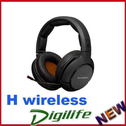 SteelSeries H Wireless Cross-Platform Gaming Headset compatible with PC, Mac, PS