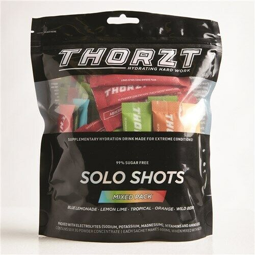 THORZT SUGAR FREE ELECTROLYTE DRINK 50-PACK ALL FLAVOURS - FREE SHIPPING
