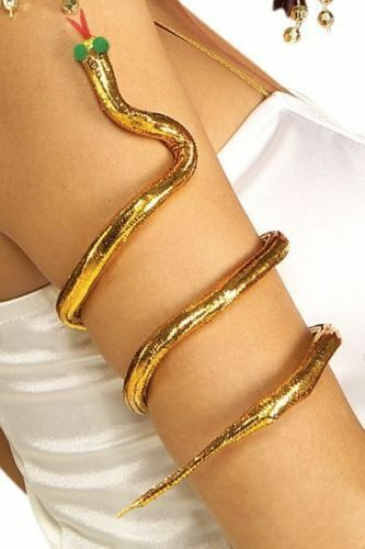 SNAKE ARM BAND Egyptian Cleopatra Costume Accessory Ancient Egypt Dress