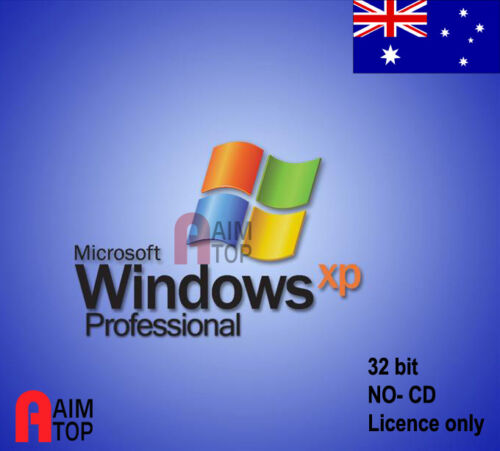 MS Windows XP Professional SP3 Licence only, NO CD Sold with Computer System