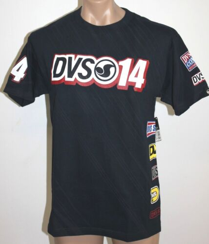 Authentic Men's DVS One Four Navy Skate T Shirt / Tee. Size S-XL. NWT. RRP$59.99