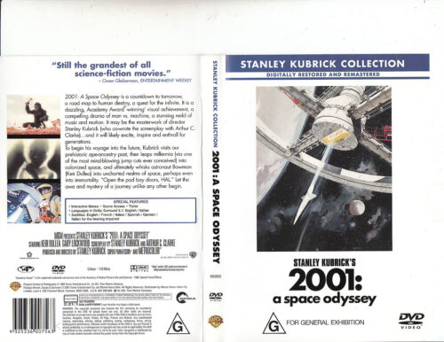 2001:A Space Odyssey-1968-Keir Dullea-Movie-DVD