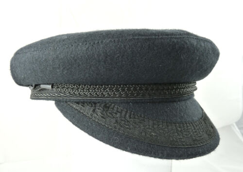 Genuine Breton Navy Wool Cap (with braid), made in France, worn the world over.