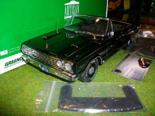 PLYMOUTH BELVEDERE GTX CONVERTIBLE 1/18 GREENLIGHT 19007 voiture cabriolet minia