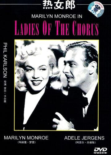 "New DVD  ""Ladies of The Chorus"" Marilyn Monroe"