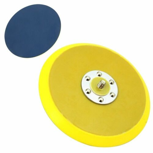 "6"" Vinyl PSA Face DA Sanding Pad Dual Action Air Sander Use Sticky Back Disc NEW"