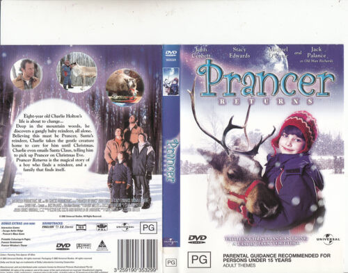 Prancer Returns-2001-John Corbett-Movie-DVD