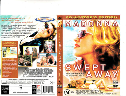 Swept Away-2002-Madonna-Collector's Edition-Movie-DVD