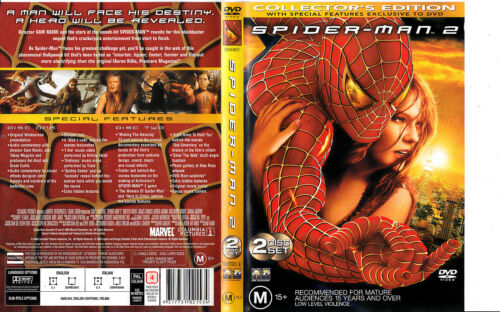 Spider-Man:2-2004-Tobey Maguire-Collector's Edition-2 Disc- Movie- DVD