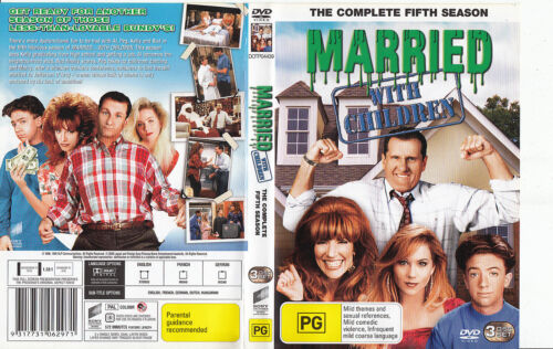 Married With Children-1987/1997-TV Series USA-Complete Fifth Season-3 Disc-DVD