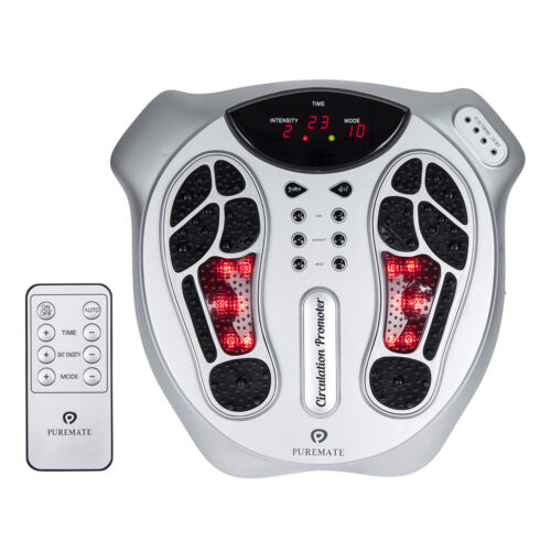 PureMate Foot Circulation Massager & Therapy, help Improves Blood Circulation <br/> Free Next Day Delivery ✓Latest Design✓ TENS massager ✓