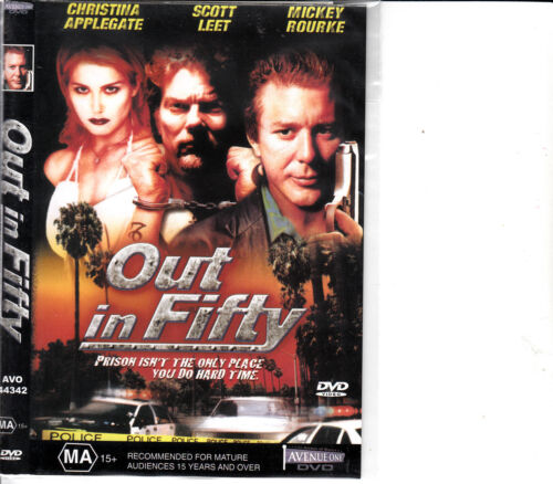 Out In Fifty-1999-Mickey Rourke-Movie-DVD