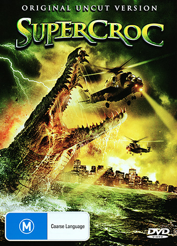 SUPERCROC (ORIGINAL UNCUT VERSION) - GIANT KILLER CROCODILE HORROR DVD