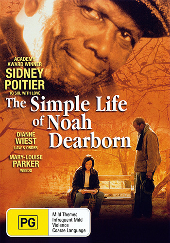 Sidney Poitier THE SIMPLE LIFE OF NOAH DEARBORN DVD