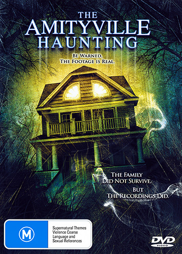 THE AMITYVILLE HAUNTING -TERRIFYING ACTUAL FOOTAGE TRUE STORY GHOST HORROR DVD