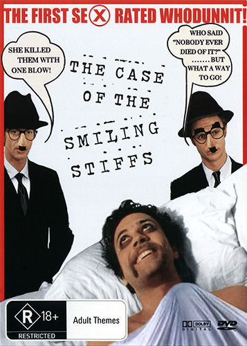 THE CASE OF THE SMILING STIFFS - CLASSIC SEX COMEDY DVD