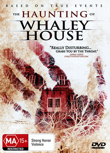 THE HAUNTING OF WHALEY HOUSE - DISTURBING TRUE STORY GHOST HORROR DVD
