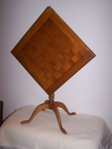 Tilt Top Game Table Early 1800's
