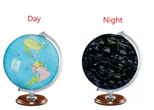 """Replogle Classic 12"""" World Globe for home school or office Made in the USA NEW"""