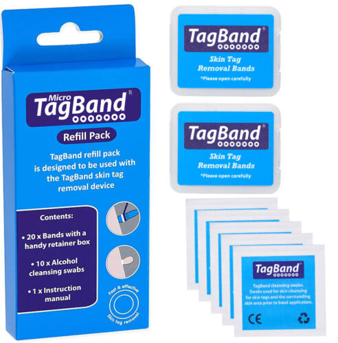Micro TagBand Refill Band Pack for Skin Tag Removal Device <br/> Free next day delivery and 60 day money back guarantee