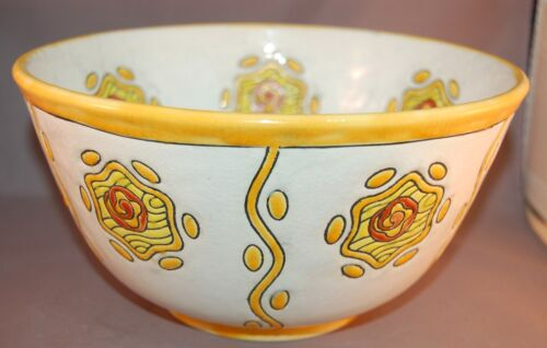 FABULOUS Boch Freres Art Deco Signed Catteau Keramis Crackle Glaze! Stunning!