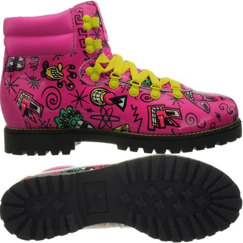 Adidas JS Face Hiking Boot pink Women's or Men's Designer Boots Jeremy Scott NEW <br/> Collectors Edition, Unisex, very very rare!