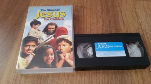 THE STORY OF JESUS FOR CHILDREN   VHS VIDEO TAPE