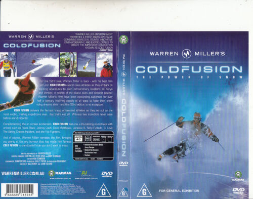Warren Miller's-Coldfusion:The Power of Snow-Skiing-DVD