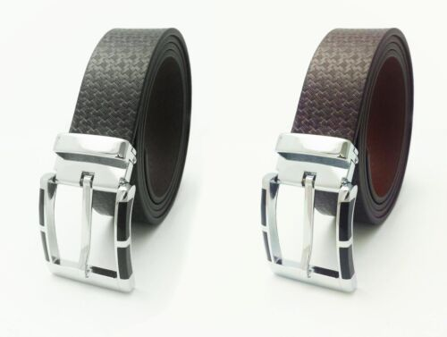 MENS GENUINE REAL LEATHER HIGH QUALITY JEANS TROUSER WAIST BELT FORMAL DESIGNS