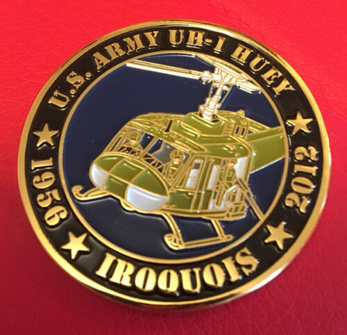 US Army UH-1 Huey Commemorative CoinOther Militaria - 135
