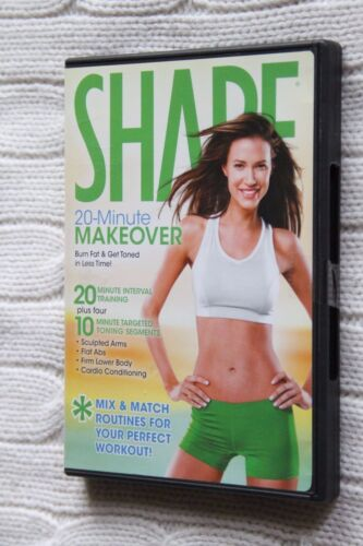 Shape: 20-Minute Makeover (DVD), Region: ALL, Like new, free shipping