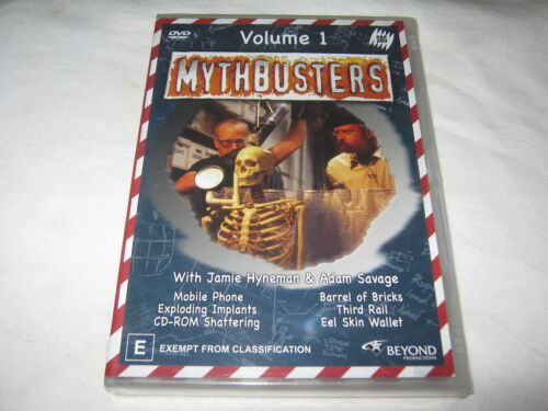 Mythbusters - Volume 1 - SBS - Brand New & Sealed - R4 - DVD