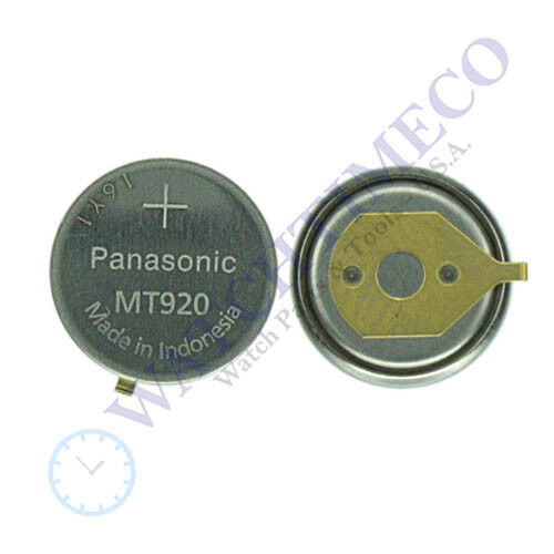 Citizen Ecodrive Capacitor Panasonic MT920 f/ 7821 7828 7871 7873 7876 7878 7879