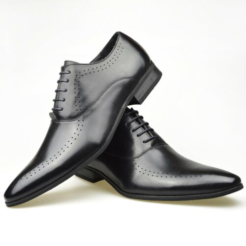 Mens Classic Office Work Casual Formal Dress Party Boys School Wedding Shoes