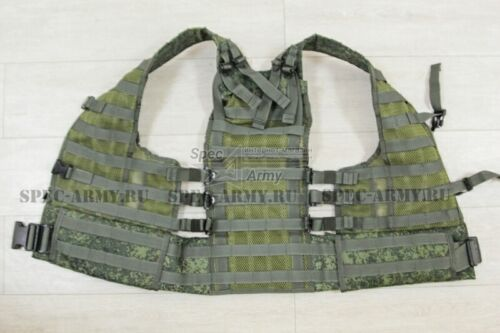 RATNIK (VKBO) VEST 6SH117 MOLLE BASE in DIGITAL FLORA in TECHINKOM Russia. NEW!Other Current Field Gear - 36071
