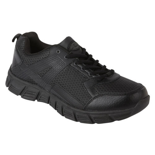 Dickies Avalon Mens Slip Resistant Service Work Shoe Black Size 9 - 12 WIDES