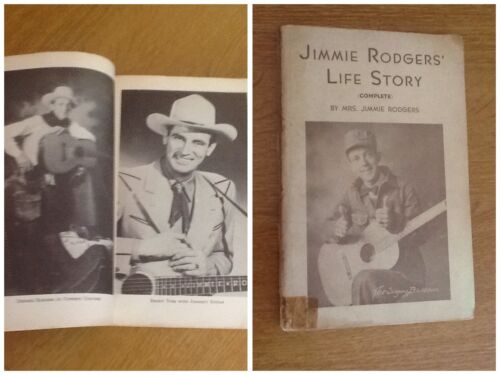 JIMMIE RODGERS' LIFE STORY 1935