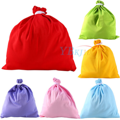 Washable Reusable Waterproof Large Baby Diaper Cloth Wet Nappy Rope Storage Bag