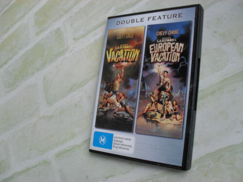 VACATION & EUROPEAN VACTION - REGION 4 PAL - 2 MOVIES - 2 DISC DVD SET