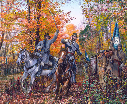 """""""Form Brigades!"""" by John Paul Strain -  S/N Limited Edition Lithographic Print"""